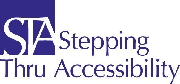 Stepping Thru Accessibility