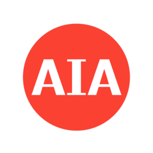 AIA event logo extra space