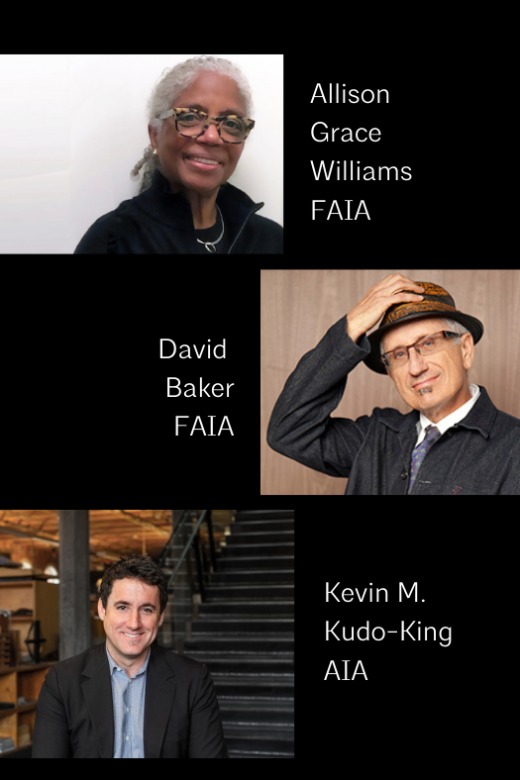 Jury 2021 Allison Grace williams FAIA David Baker FAIA